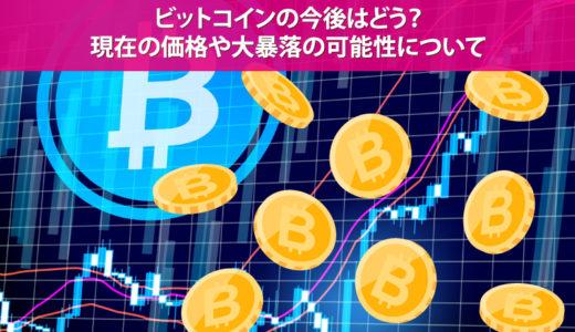 ビットコインの今後はどう?現在の価格や大暴落の可能性について